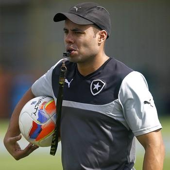 Jair Ventura treino Botafogo (Foto: Vitor Silva / SSPress)