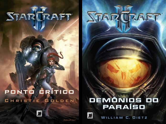 Livros lançados sobre Starcraft 2 (Foto: João Moura) (Foto: Livros lançados sobre Starcraft 2 (Foto: João Moura))