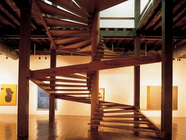 escadaria do mam lina bo bardi (Foto: Divulgação)