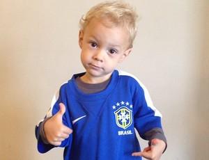 Davi Lucca filho Neymar (Foto: Reprodução / Instagram)