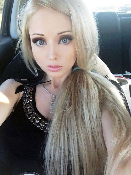 Valeria Lukyanova, a Barbie humana (Foto: Facebook/Reprodução)