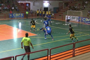 ginásio do sesi futsal acre (Foto: Reprodução/TV Acre)