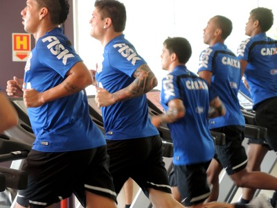 treino corinthians  (Foto: Marcelo Braga)