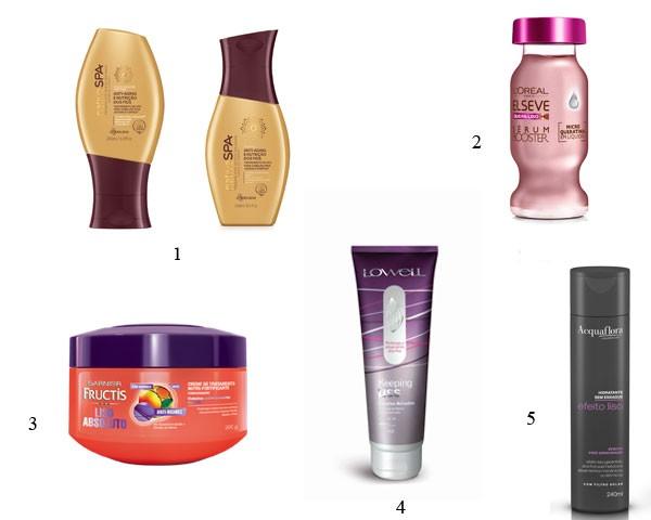 produtos lisos (Foto: Divulgação)
