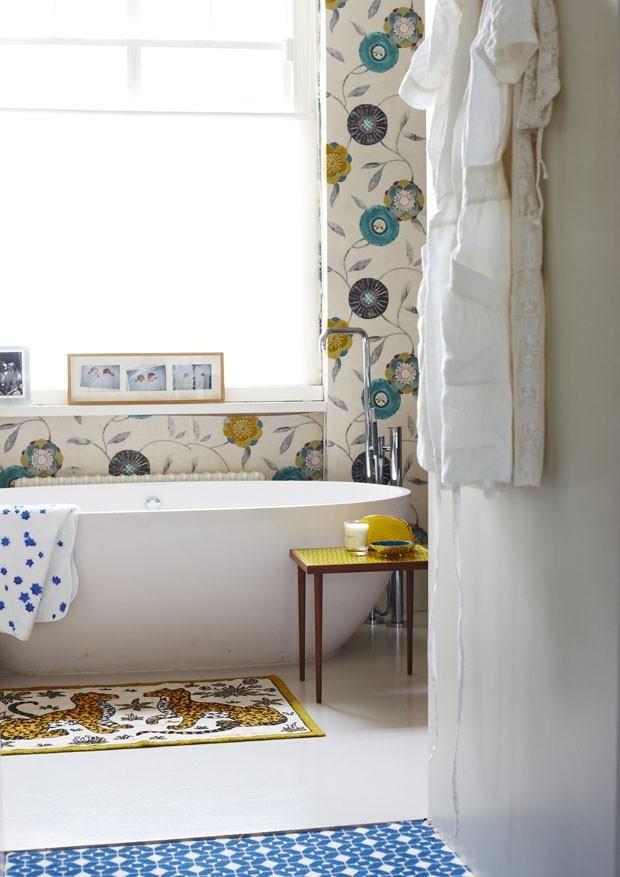 10 banheiros com tons de azul (Foto: Reprodução)