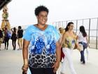Famosos vão ao último dia do Fashion Rio