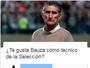 Em enquete, torcida se divide sobre Bauza como treinador da Argentina