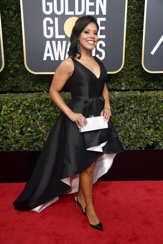 A apresentadora de TV Sheinelle Jones  (Foto: Getty Images)