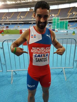 atletismo luguelin santos (Foto: Helena Rebello)