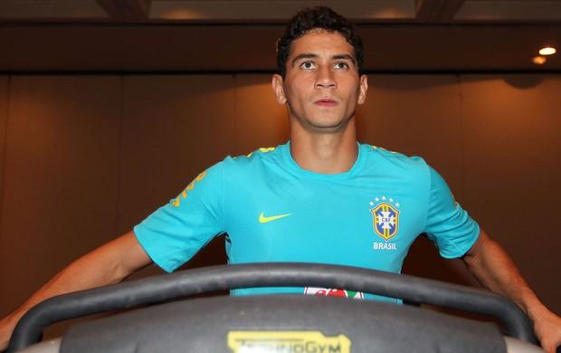paulo henrique ganso brasil musculação (Foto: Rafael Ribeiro / CBF.com)