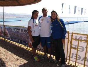 Ana Marcela natação Israel (Foto: Christiane Fanzeres/CBDA)