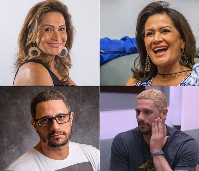 Transformações dos BBBs (Foto: Paulo Belote/Globo, Artur Meninea/Gshow e TV Globo)