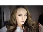 Celular de Larissa Manoela é divulgado na web e atriz se irrita