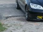 Buracos e desníveis nas ruas de Belém causam prejuízos a motoristas