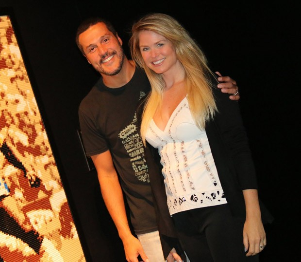 Júlio César e Susana Werner (Foto: Fabio Moreno/AgNews)