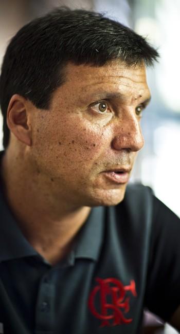 Zé Ricardo em entrevista ao GLOBO