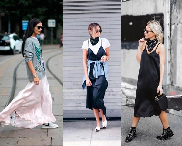 Slip dress: combine de várias formas (Foto: Instagram)