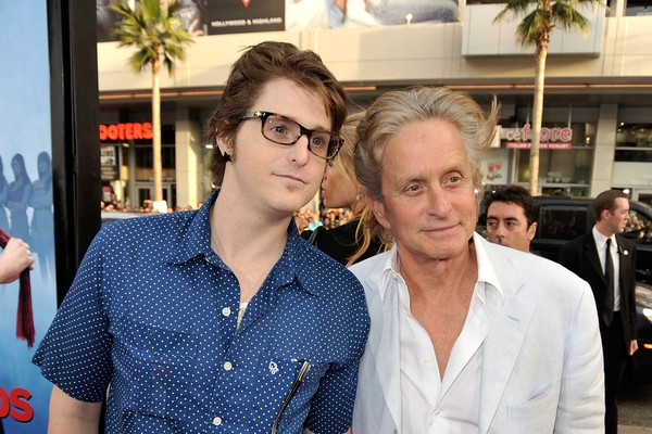 Cameron Douglas e Michael Douglas (Foto: Getty Images)
