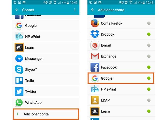 Acesse suas contas no tablet ou celular Android (Foto: Reprodução/Barbara Mannara)