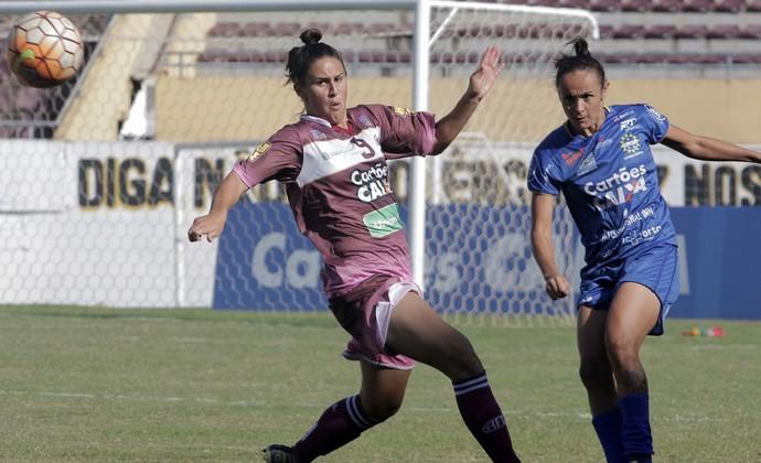 São José Futebol Feminino x Ferroviária (Foto: LUCAS TANNURI/ALLSPORTS)