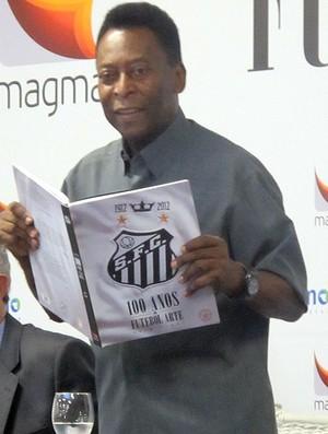 Evento Lançamento livro centenário, Pelé (Foto: Marcelo Hazan / Globoesporte.com)