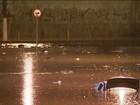 Chuva forte surpreende e para a cidade de São Paulo