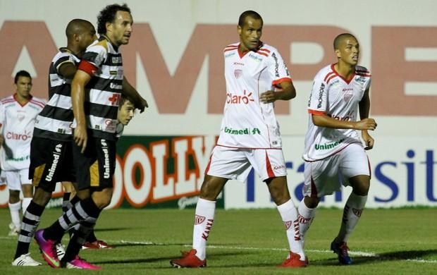 Rivaldo e Rivaldo Junio Mogi Mirim x XV de Piracicaba (Foto: Luciano Claudino / Agência Estado)