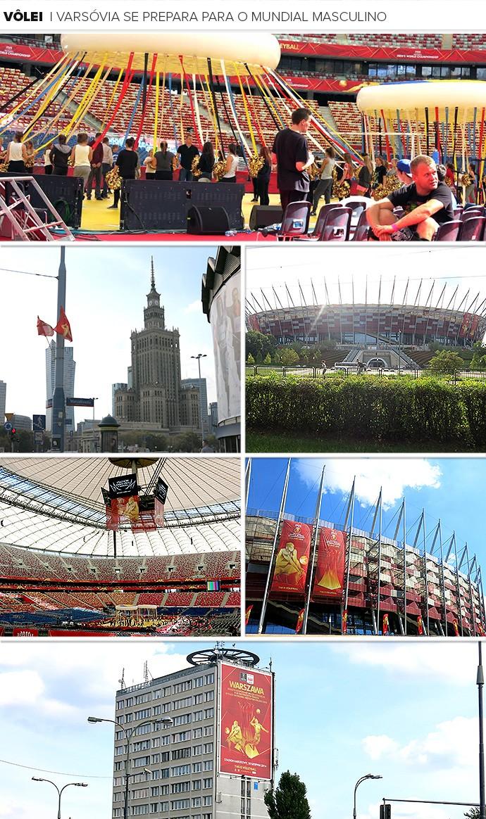 Mosaico Mundial de vôlei na Polônia 2 (Foto: Editoria de Arte)