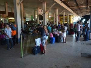 Empresa terá que investir R$ 3 milhões na rodoviária de Ariquemes (Foto: Franciele do Vale/G1)