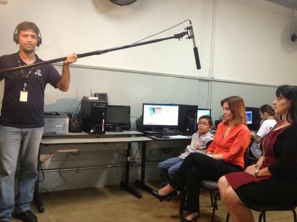 Equipe da TV TEM de Rio Preto produziu matéria que será exibida no Globo Repórter (Foto: Reprodução TV TEM)