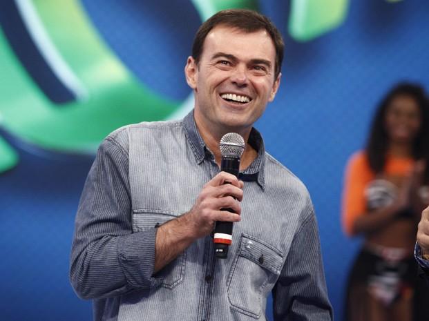 Tino Marcos no Arquivo Confidencial (Foto: TV Globo/Domingão do Faustão)