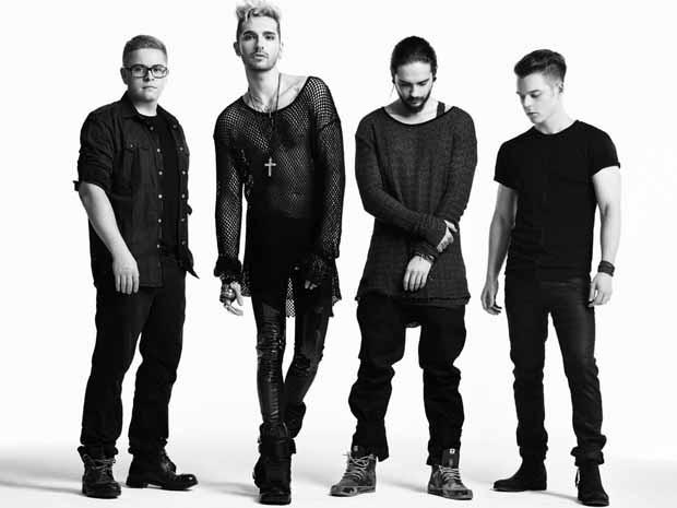 Georg Listing, Bill Kaulitz, Tom Kaulitz e Gustav Schäfer, do Tokio Hotel (Foto: Divulgação)