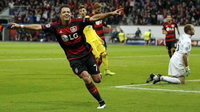 Bayer Leverkusen x CSKA Moscou champions