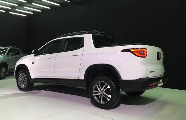 Fiat apresenta picape Toro no lançamento oficial (Foto: Gabriel Aguiar / Autoesporte)