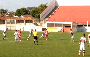 Bandeirante-SP x Noroeste, Birigui, Segunda Divisão paulista (Foto: Patrick Lima / TV TEM)