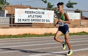 Estadual de atletismo sub-20 (Foto: Arquivo/FAMS)