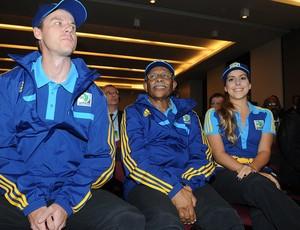 uniforme voluntários copa das confederações (Foto: André Durão / Globoesporte.com)