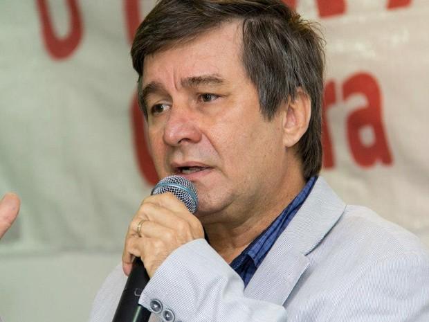 Robério Paulino, candidato ao Governo do Rio Grande do Norte pelo PSOL (Foto: Márcio Guerra/Assessoria)