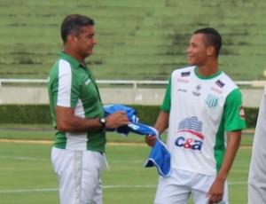Cesinha; Catanoce; Caio Dantas; treino,; Uberlândia; UEC; Parque do Sabiá (Foto: Lucas Papel)