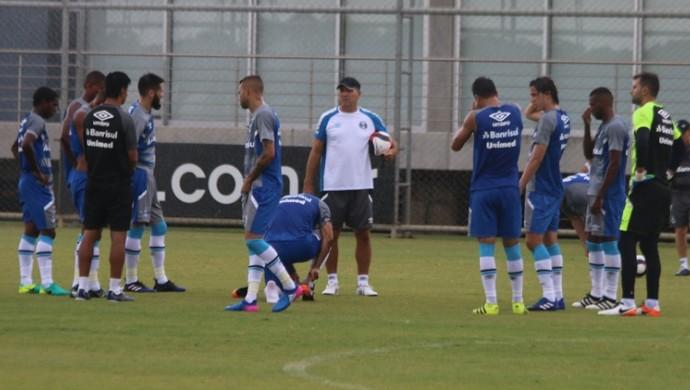 Grêmio jogo-treino Renato Gaúcho titulares (Foto: Eduardo Moura / GloboEsporte.com)