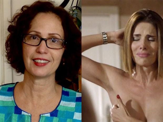 Inspiração e personagem, Clélia acredita que é preciso de humor para vencer essa luta (Foto: Malhação / TV Globo)