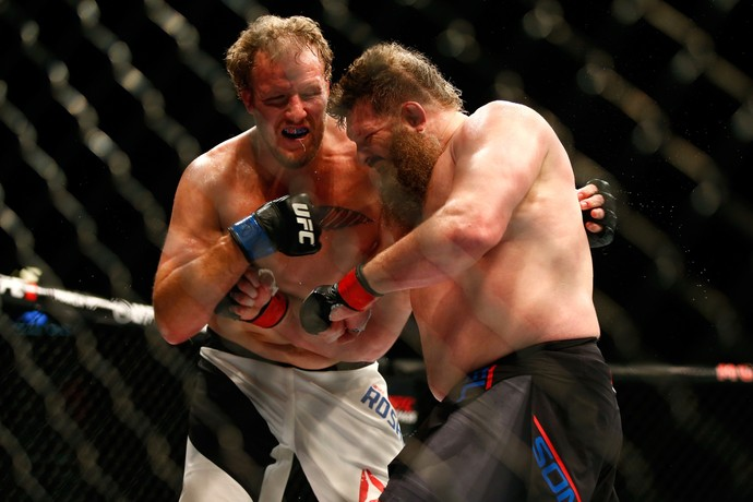 Roy Nelson Jared Rosholt UFC MMA (Foto: Getty Images)