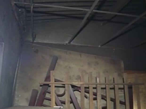 Incêndio se espalhou pela casa em pouco mais de 10 minutos  (Foto: reprodução/TV Tem)