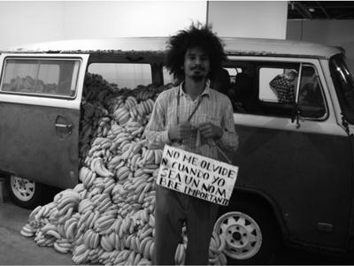 NAZARETH, P. Mercado de Artes / Mercado de Bananas. Miami Art Basel, EUA, 2011. Disponível em: www.40forever.com.br Acesso em: 31 jul. 2012. (Foto: Reprodução)
