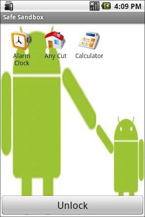 Aplicativo restringe a execução de outros aplicativos e filtra o conteúdo da internet. (Foto: Reprodução)