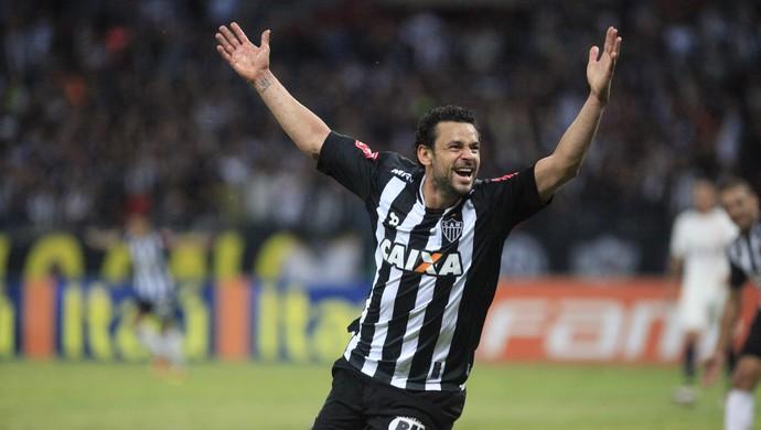 Fred Atlético-MG x Corinthians (Foto: Agência Estado)