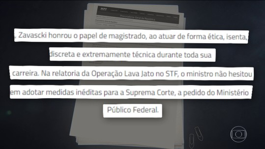 Janot e Moro lamentam morte do relator da Lava Jato no Supremo