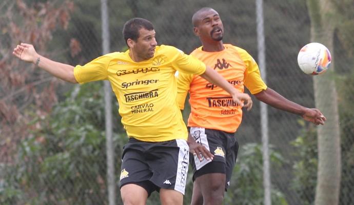Criciúma em treino (Foto: Fernando Ribeiro/www.criciuma.com.br)