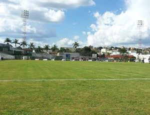 Patrocinense e URT se enfrentaram no estádio Júlio Aguiar, em Patrocínio (Foto: Paulo Barbosa / TV Integração)
