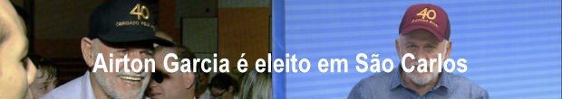 Airton Garcia é o mais votado em São Carlos e assume a prefeitura pelos próximos 4 anos (Foto: Reprodução/ EPTV)